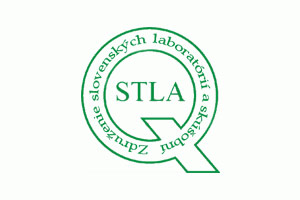 Slovak testing laboratories association – CERTIFICATE